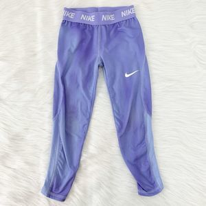 Nike Purple Dri-Fit Compression Leggings Training